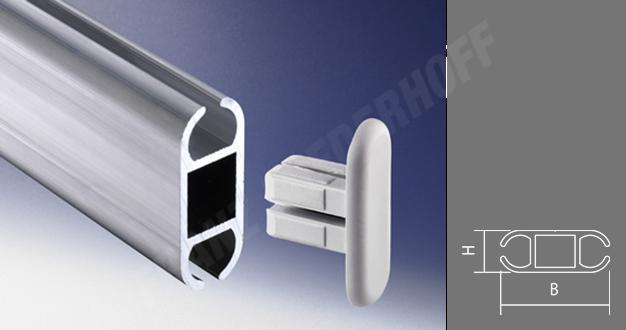 Franz Miederhoff Ohg Aluminium Double Keder Rails For 7 5